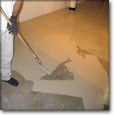 How to waterproof a basement floor