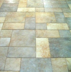 Available patterns for ceramic tile installation
