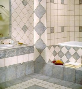 Mistakes for ceramic bathroom tiles