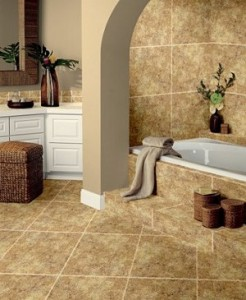 Steps for installing ceramic wall tile