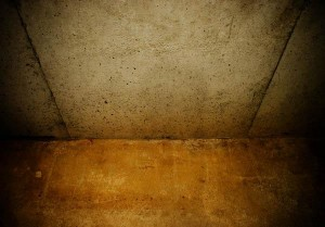 Reducing moisture in a damp basement