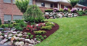 Maneiras baratas de paisagem seu jardim
