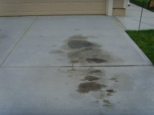 Tips for removing oil and grease from concrete