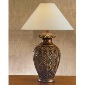 Suggestions to polish a bronze lamp