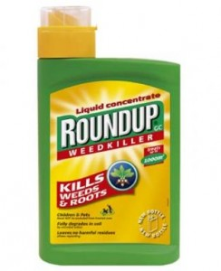 The Roundup weed killer