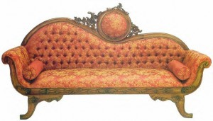The age of style – Victorian sofas