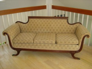 Sofas in the 1930s style