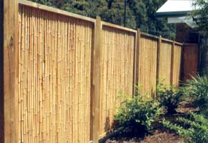 Make a bamboo fence by yourself!