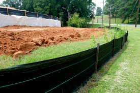 Silt fences