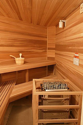 How to set up a steam sauna