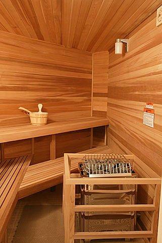 Como configurar uma sauna a vapor