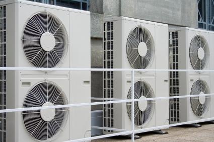 Building størrelser som krever en industriell klimaanlegg