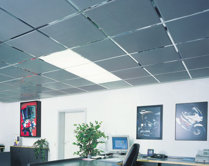 The advantages of metal ceiling tiles