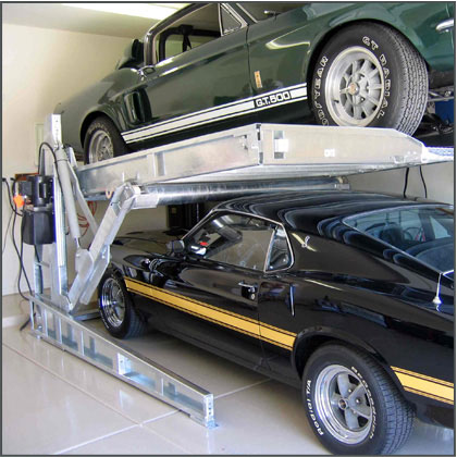 Convert a single garage into a two-car garage