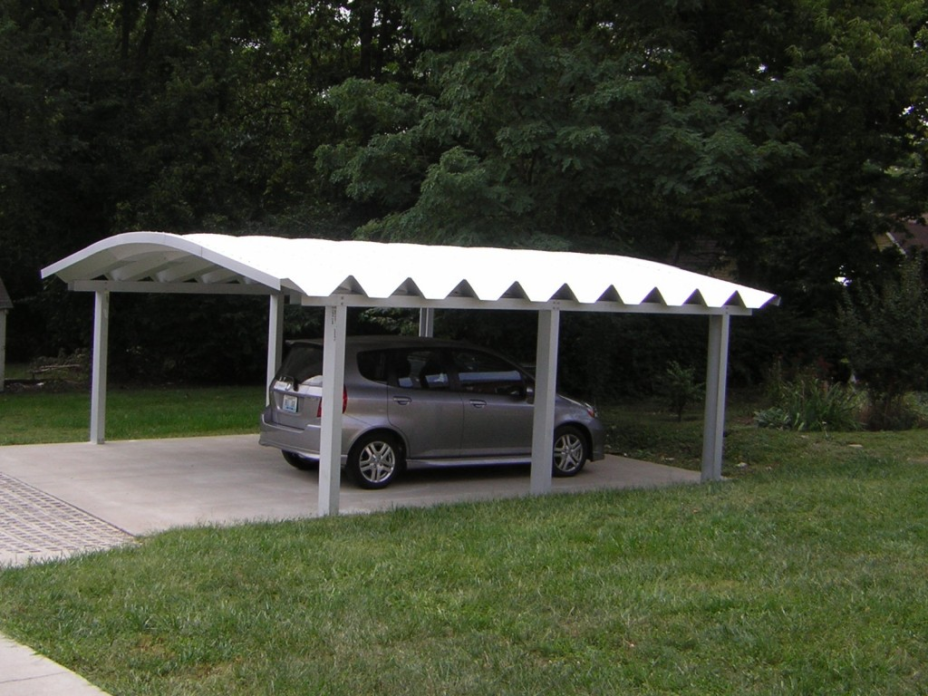Removing a metal carport