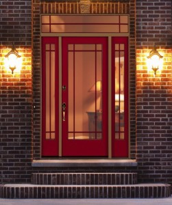 Fiberglass συντήρηση πόρτα