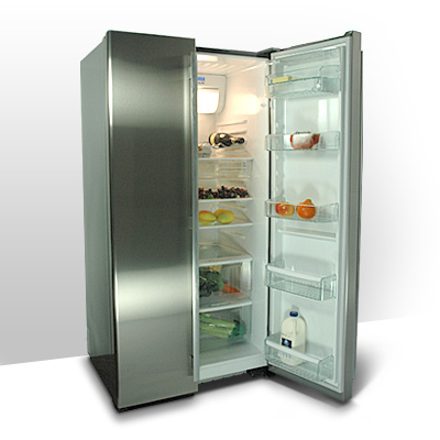 How to clean a glass door beverage refrigerator