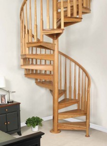 Spiral staircase maintenance
