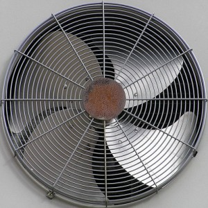 Installing an air conditioner fan