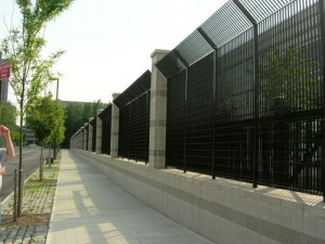 Industrial Classic Premier steel fences