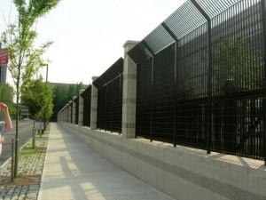 Endüstriyel Klasik Premier çelik çitler