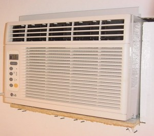 Installing a window AC unit away from window
