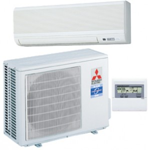 Mini split air conditioning unit
