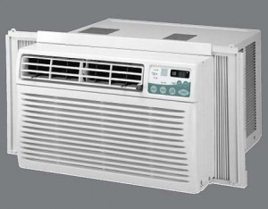 How to run a central air conditioner during rain