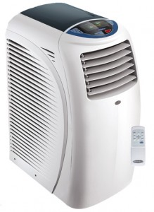 Hur man använder en bärbar luftkonditionering, som ett fan