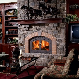 Wood fireplace: types and accessories