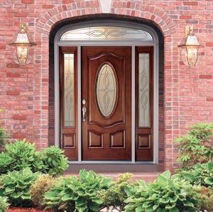 Fiberglass πόρτες