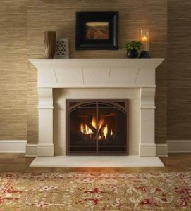 Types of prefab fireplaces