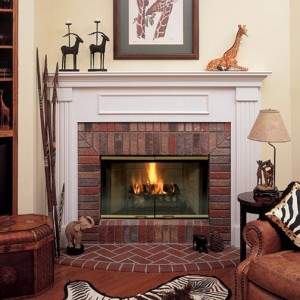 About wood fireplaces