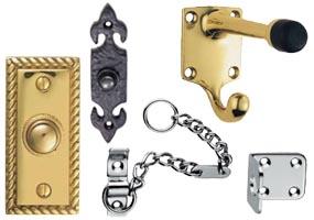 Storm door accessories