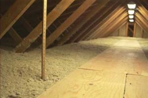 Foam attic insulation on a budget