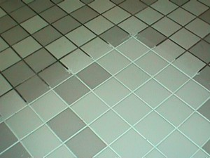 How to clean grout mildew