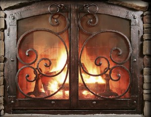 Fireplace enclosures