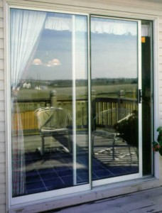 Installing a sliding screen door