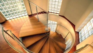 How to install prefab spiral staircase