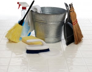 Home mildew cleaning