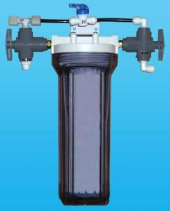 Water sediment filtration