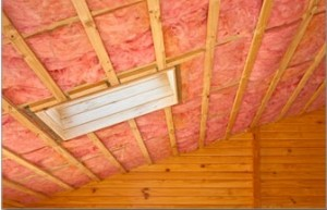 Installing attic insulation for cold climates