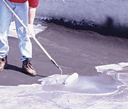 Wie Mantel einer Aluminium-Dach