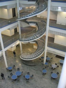 Design ideas for spiral staircases