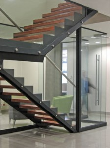 Steel staircase benefits