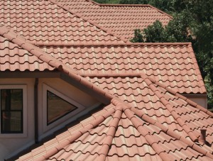 How to design a Mediterranean style roof frame