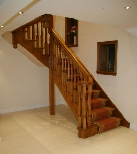 Oak staircase maintenance