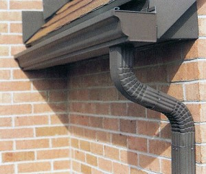 How do roof gutters work?