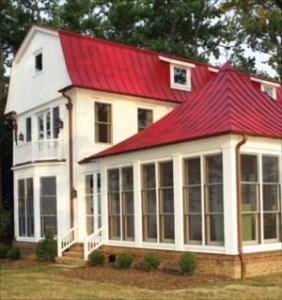 Pintar un techo de hojalata