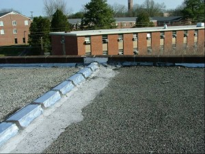 Installing a modified bitumen roof